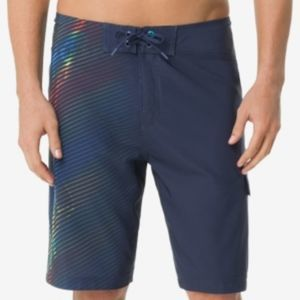 NWT Speedo Men's Electro Mist 9.5'' Swim Trunks